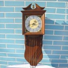 Relojes de pared: ANTIGUO RELOJ DE PARED. Lote 158571046