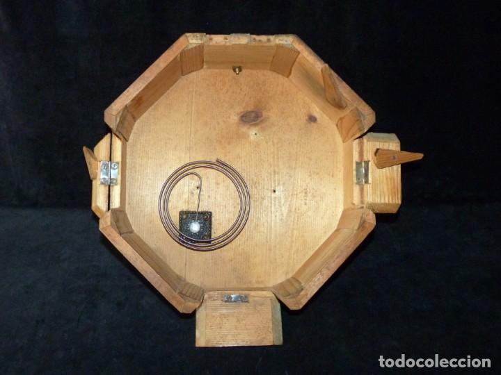 Relojes de pared: ANTIGUO RELOJ DE PARED OJO DE BUEY. MAQUINARIA WERNER DEPONIRT. RELOJERÍA P. VIDAL (VALENCIA ?) CIRC - Foto 16 - 159016866