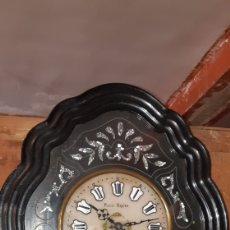 Relojes de pared: RELOJ PARED SIGLO XIX. Lote 159149429
