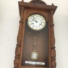 Relojes de pared: RELOJ PENDULO. Lote 159182894