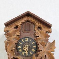Relojes de pared: RELOJ CUCO DE MADERA PARA RESTAURAR . Lote 159922926