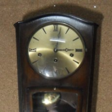 Relojes de pared: RELOJ CARRILLON DE PARED HAID HERMLE * FUNCIONA. Lote 160113434