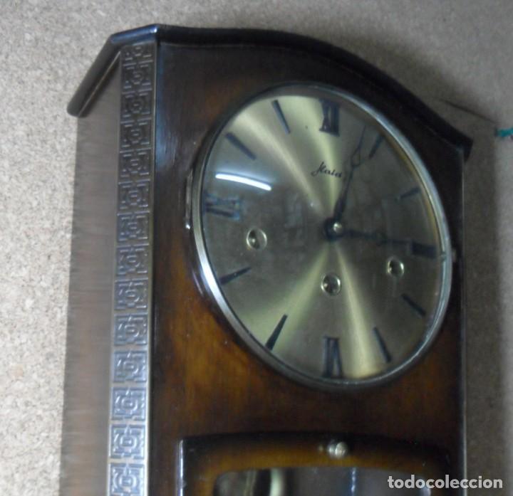 Relojes de pared: RELOJ CARRILLON DE PARED HAID HERMLE * FUNCIONA - Foto 2 - 160113434