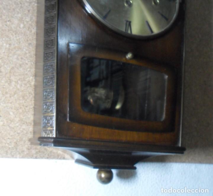 Relojes de pared: RELOJ CARRILLON DE PARED HAID HERMLE * FUNCIONA - Foto 3 - 160113434