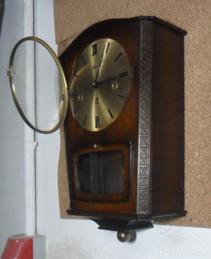 Relojes de pared: RELOJ CARRILLON DE PARED HAID HERMLE * FUNCIONA - Foto 5 - 160113434