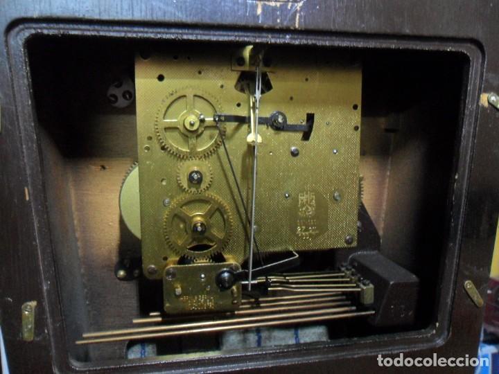 Relojes de pared: RELOJ CARRILLON DE PARED HAID HERMLE * FUNCIONA - Foto 6 - 160113434
