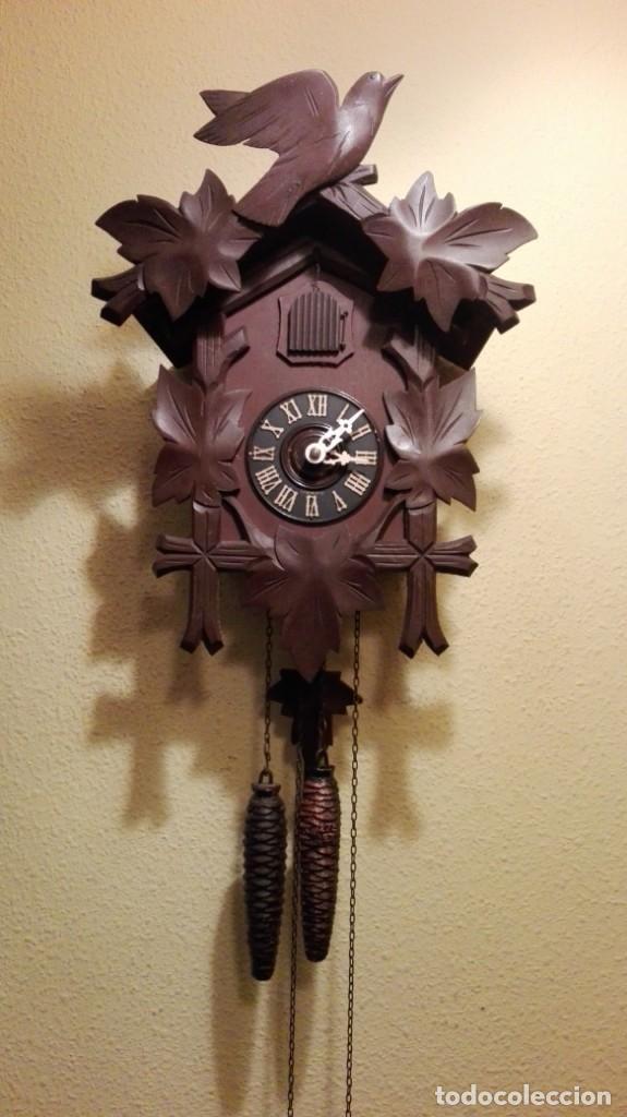 RELOJ CUCU-CUCO MADE IN GERMANY. (Relojes - Pared Carga Manual)