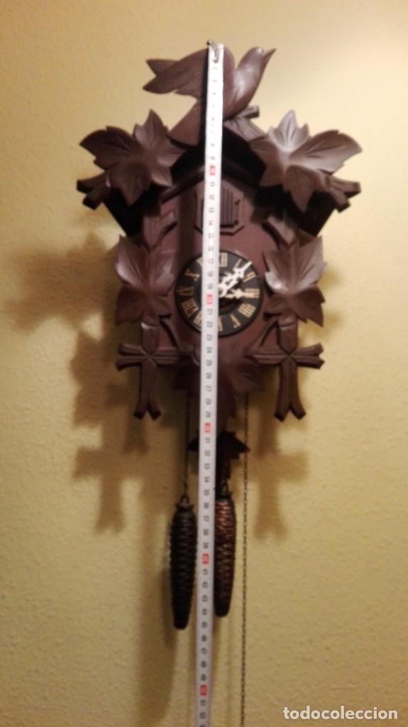 Relojes de pared: RELOJ CUCU-CUCO MADE IN GERMANY. - Foto 2 - 160185642