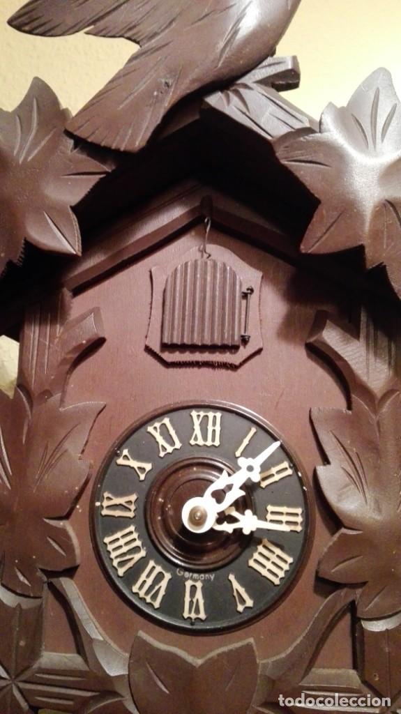 Relojes de pared: RELOJ CUCU-CUCO MADE IN GERMANY. - Foto 6 - 160185642