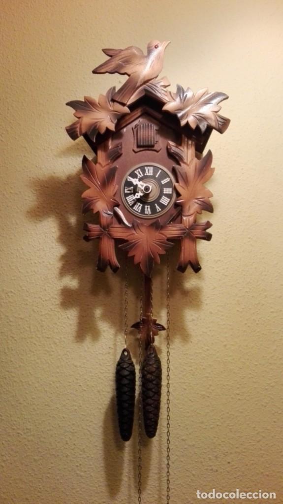 RELOJ CUCU-CUCO MADE IN GERMANY(SELVA NEGRA). (Relojes - Pared Carga Manual)