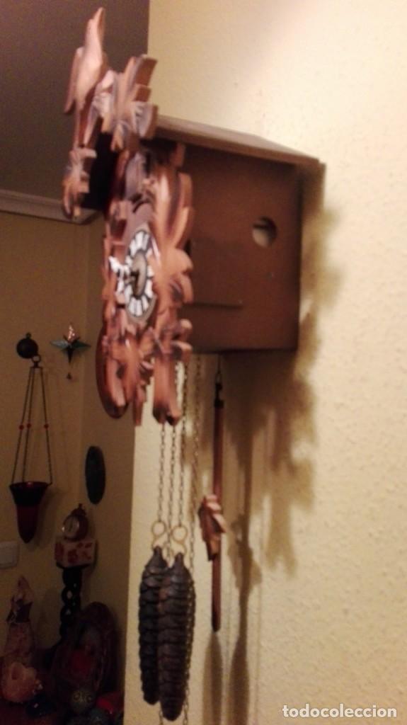 Relojes de pared: RELOJ CUCU-CUCO MADE IN GERMANY(SELVA NEGRA). - Foto 4 - 177422239