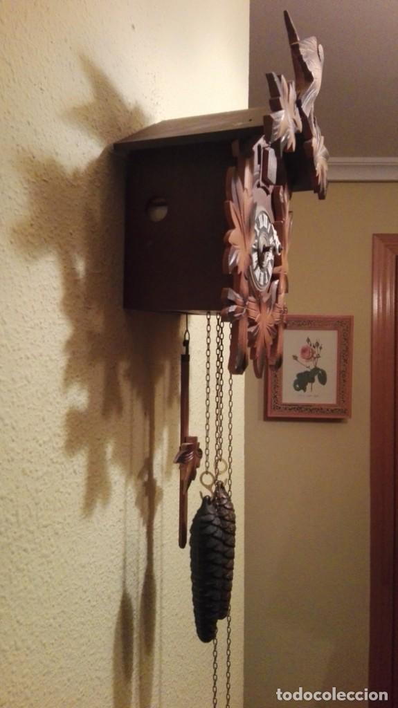 Relojes de pared: RELOJ CUCU-CUCO MADE IN GERMANY(SELVA NEGRA). - Foto 5 - 177422239