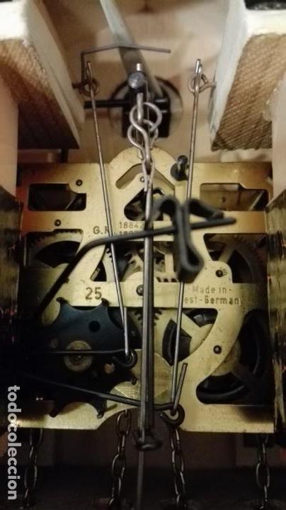 Relojes de pared: RELOJ CUCU-CUCO MADE IN GERMANY(SELVA NEGRA). - Foto 13 - 177422239