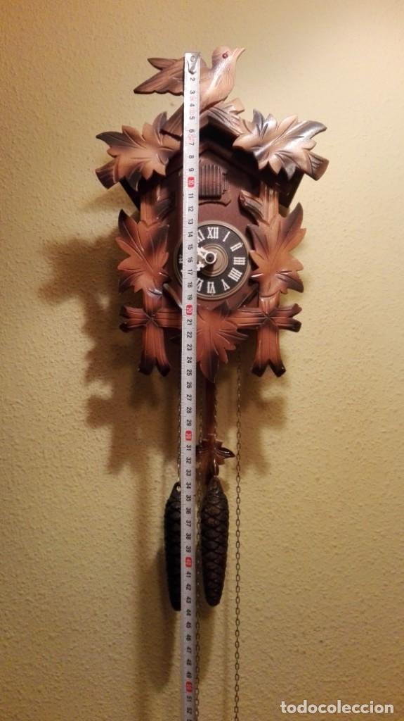 Relojes de pared: RELOJ CUCU-CUCO MADE IN GERMANY(SELVA NEGRA). - Foto 2 - 177422239