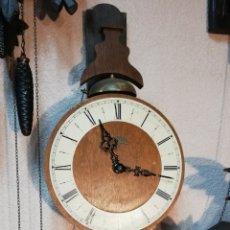 Relojes de pared: GRAN RELOJ HOLANDÉS DE PRIMERA MITAD DEL SXX. WARMINK. GRAN ESTADO. Lote 160207237