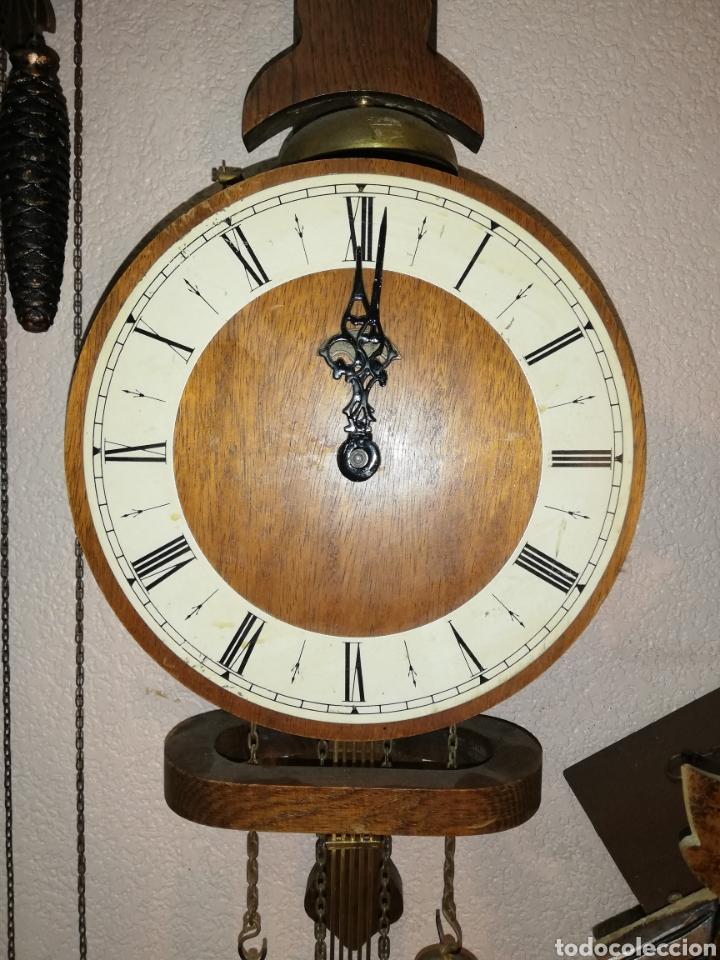 Relojes de pared: Gran reloj Holandés de primera mitad del SXX. Warmink. Gran estado - Foto 2 - 160207237