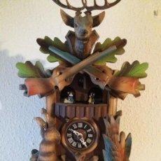 Relojes de pared: CUCO ALEMAN SELVA NEGRA CARRUSEL MUSICAL. Lote 160330942