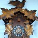 Relojes de pared: RELOJ DE CUCO ALEMAN MEDIADOS SIGLO XX. Lote 160366402