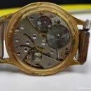 Relojes de pared: RELOJ DOGMA PRIMA PARA PIEZAS CHAPADO EN ORO 15 RUBIES. Lote 160392074