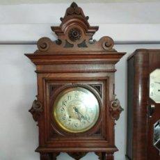 Relojes de pared: RELOJ ANTIGUO MODERNISTA. Lote 160496290