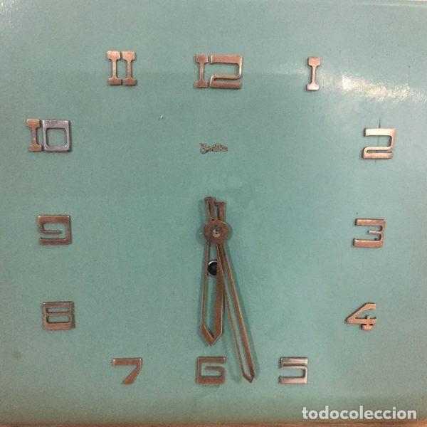 Relojes de pared: Reloj industrial de pared ZENTRA Alemania años 60 - Foto 2 - 102802298