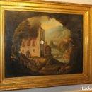 Relojes de pared: CUADRO RELOJ HACIA 1820, FRANCÉS, CON AUTÓMATAS Y CINCO MAQUINARIAS. Lote 160985422