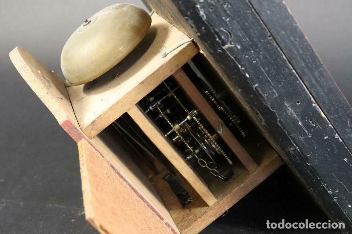 Relojes de pared: ¡¡gran oferta!!!ANTIGUO RELOJ RATERA SELVA NEGRA-FRONTAL LATON MUSICOS BUEN ESTADO-1860-lote 185 - Foto 9 - 161816774