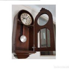 Relojes de pared: RELOJ CARRILLÓN REGULADOR DE PARED. QUILLET 1930. Lote 173715712