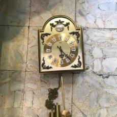 Relojes de pared: RELOJ DE PARED CARGA MANUAL. Lote 163029346