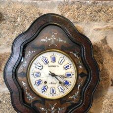 Relojes de pared: RELOJ OJO DE BUEY MOREZ. Lote 163523302