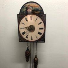 Relojes de pared: RELOJ DE PARED TIPO RATERA. FUNCIONA CON PILAS - PROCEDENTE LIQUIDACION TIENDA. Lote 163932666