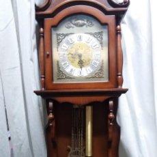 Relojes de pared: RELOJ PARED HERSA TEMPUS FUJIT CARGA MANUAL. Lote 164840770