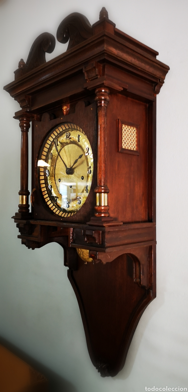 Relojes de pared: Reloj de pared, Carillon 8 dias cuerda - Foto 2 - 165462269