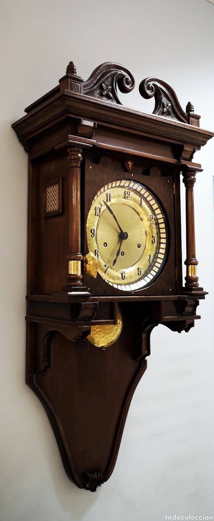 Relojes de pared: Reloj de pared, Carillon 8 dias cuerda - Foto 3 - 165462269