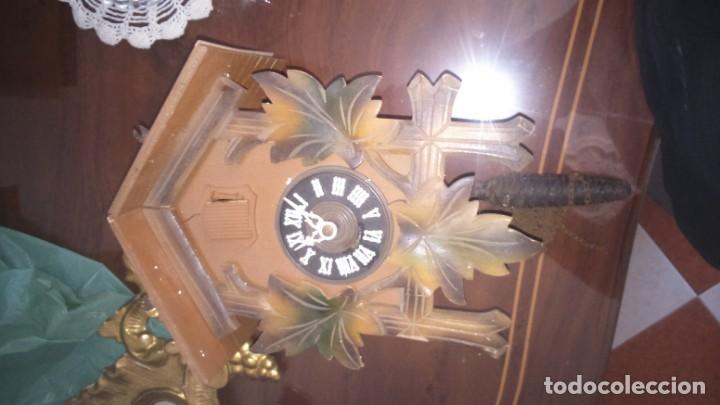 ANTIGUO RELOJ DE CUCO ALEMÁN. A RESTAURAR (Relojes - Pared Carga Manual)