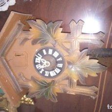 Relojes de pared: ANTIGUO RELOJ DE CUCO ALEMÁN. A RESTAURAR . Lote 166261514