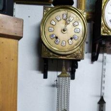 Relojes de pared: RELOJ DE MOREZ DE CANPANAYEZFERA DE ALABASTRO. Lote 166378421