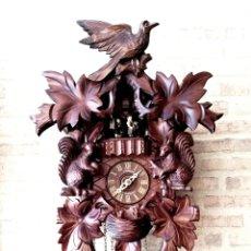 Relojes de pared: GRAN RELOJ DE CUCO SCHNEIDER. CALIDAD. CARRUSEL, MUSICAL Y 8 DÍAS CUERDA. Lote 166540214