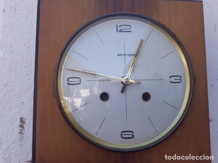 Relojes de pared: reloj de madera y soneria a pilas - Foto 2 - 166554434