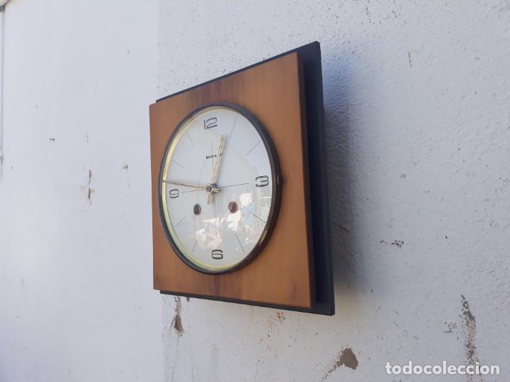 Relojes de pared: reloj de madera y soneria a pilas - Foto 3 - 166554434