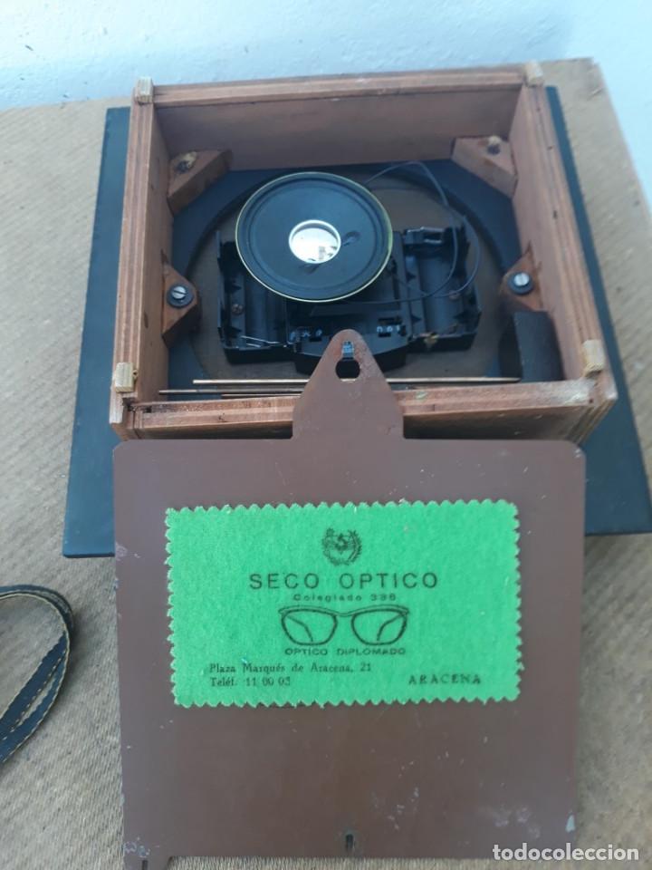 Relojes de pared: reloj de madera y soneria a pilas - Foto 4 - 166554434