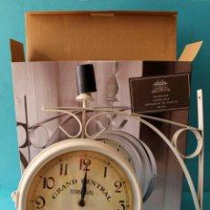 Relojes de pared: RELOJ DE PARED ESTILO VINTAGE. Lote 166569806