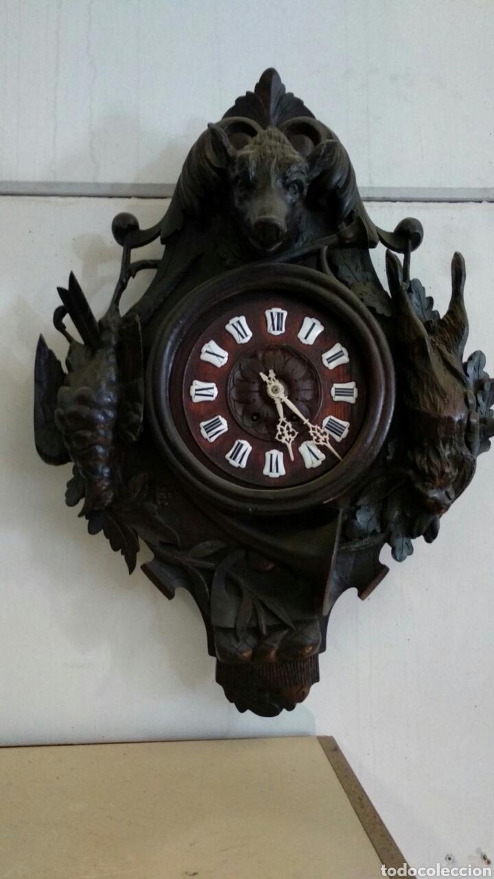 RELOJ ALEMÁN SELVA NEGRA (Relojes - Pared Carga Manual)