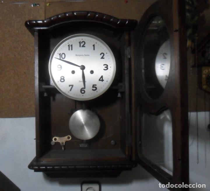 RELOJ DE PARED MECANICO – CORDOBA - RELOJERIA SUIZA ** FUNCIONA (Relojes - Pared Carga Manual)