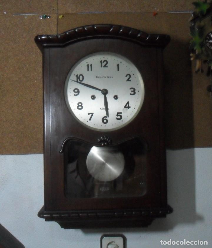 Relojes de pared: RELOJ DE PARED MECANICO – CORDOBA - RELOJERIA SUIZA ** FUNCIONA - Foto 2 - 166957148