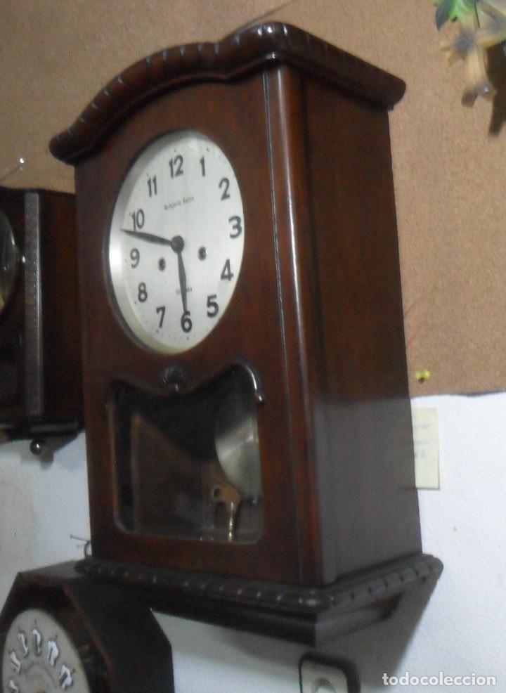 Relojes de pared: RELOJ DE PARED MECANICO – CORDOBA - RELOJERIA SUIZA ** FUNCIONA - Foto 4 - 166957148