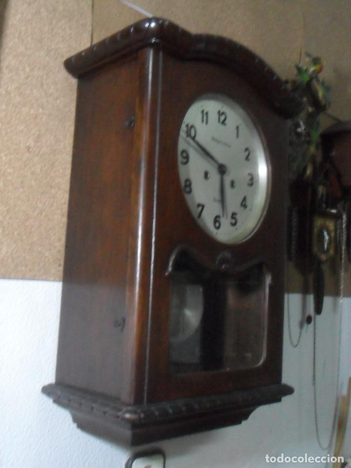 Relojes de pared: RELOJ DE PARED MECANICO – CORDOBA - RELOJERIA SUIZA ** FUNCIONA - Foto 5 - 166957148