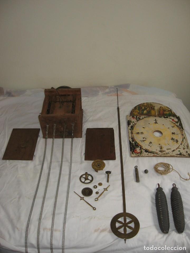RELOJ RATERA O SELVA NEGRA (Relojes - Pared Carga Manual)