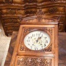 Relojes de pared: RELOJ MODERNISTA DE PARED.. Lote 167921706