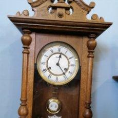 Relojes de pared: RELOJ DE PAREZ FUNCIONANDO. Lote 168278649